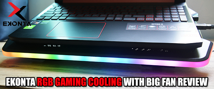 default thumb EKONTA RGB GAMING COOLING WITH BIG FAN REVIEW