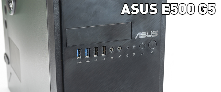 ASUS E500 G5 Intel Xeon E platform Workstation Review