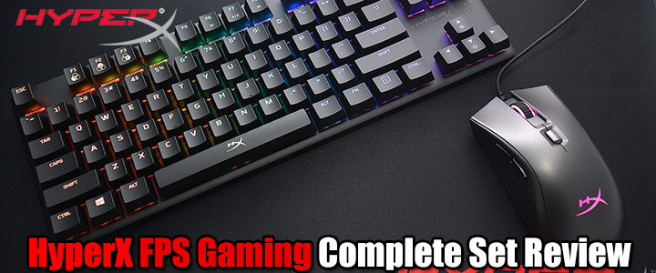 HyperX FPS Gaming Complete Set Review