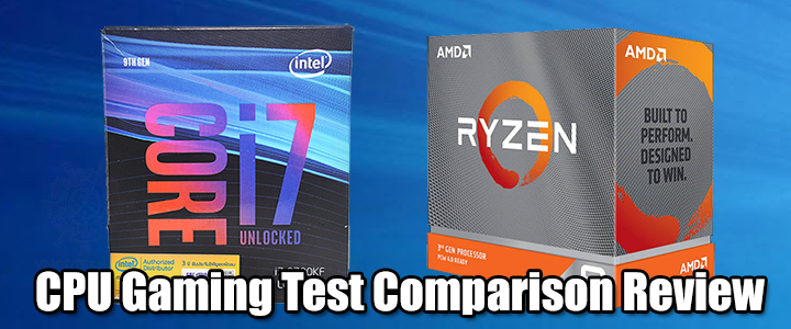 CPU Gaming Test Comparison Review