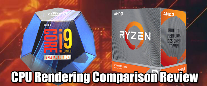 CPU Rendering Comparison Review
