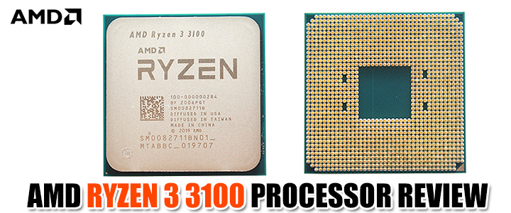 AMD RYZEN 3 3100 PROCESSOR REVIEW
