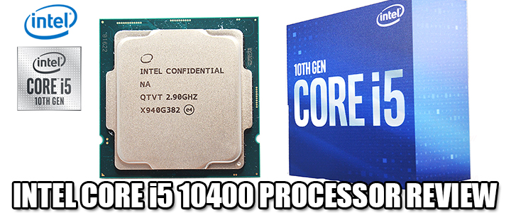 INTEL CORE i5 10400 PROCESSOR REVIEW