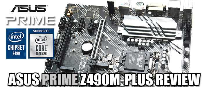 ASUS PRIME Z490M-PLUS REVIEW