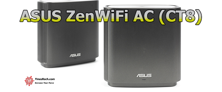 default thumb ASUS ZenWiFi AC (CT8) Triband Mesh WiFi System Review