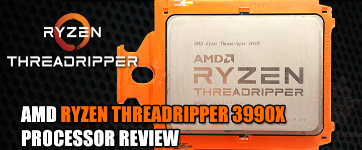 AMD RYZEN THREADRIPPER 3990X PROCESSOR REVIEW