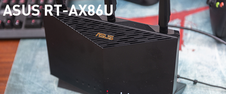 ASUS RT-AX86U AX5700 Dual Band WiFi 6 Gaming Router Review