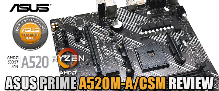 default thumb ASUS PRIME A520M-A/CSM REVIEW