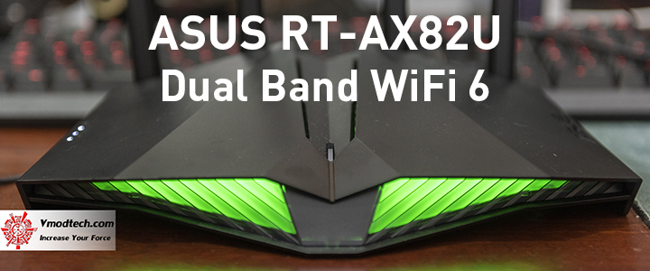 ASUS RT-AX82U Dual Band WiFi 6 Review