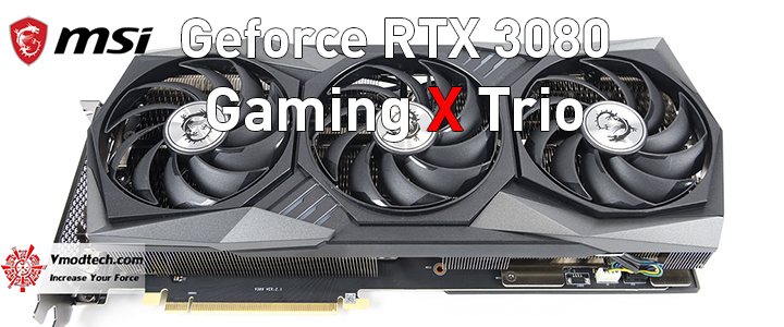 default thumb MSI GeForce RTX 3080 Gaming X Trio 10G Review