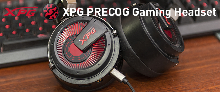 default thumb XPG PRECOG Gaming Headset Review