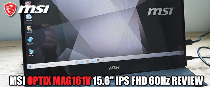 MSI OPTIX MAG161V 15.6″ IPS FHD 60Hz REVIEW