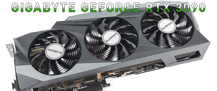 GIGABYTE GeForce RTX 3090 GAMING OC 24G Review