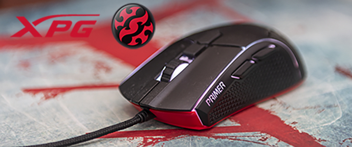 XPG Primer Gaming Mouse Review
