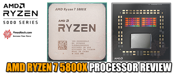 AMD RYZEN 7 5800X PROCESSOR REVIEW