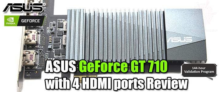 ASUS GeForce GT 710 with 4 HDMI ports Review