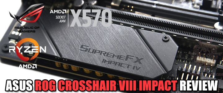 ASUS ROG CROSSHAIR VIII IMPACT REVIEW