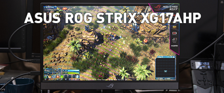 default thumb ASUS ROG STRIX XG17AHP 17 Inch Portable USB Type-C Gaming Monitor Review