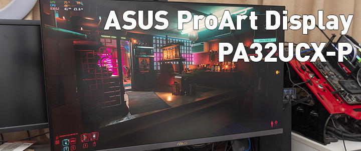 default thumb ASUS ProArt Display PA32UCX-P 4K HDR 32 Inch Review