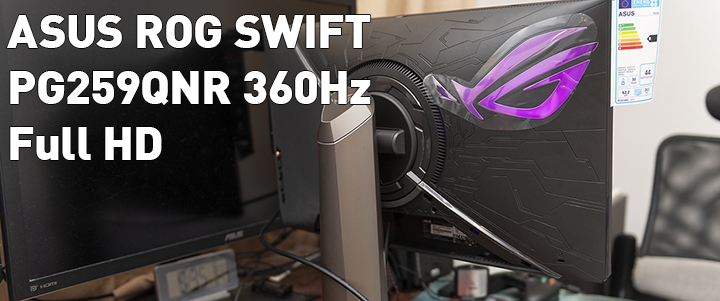 default thumb ASUS ROG SWIFT PG259QNR 360Hz FULL HD Review