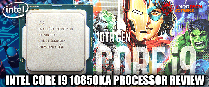 INTEL CORE i9 10850KA PROCESSOR REVIEW