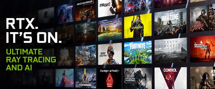 เทคโนโลยี Ray Tracing และ DLSS ที่อัดแน่นมาพร้อมนำเสนอในเกมส์ใหม่เช่น Call of Duty: Warzone, Outriders, Five Nights At Freddy's: Security Breach, The Medium และอีกมากมาย