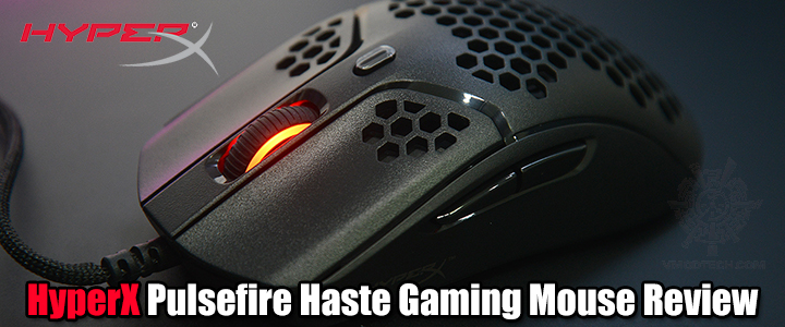 default thumb HyperX Pulsefire Haste Lightweight Gaming Mouse Review