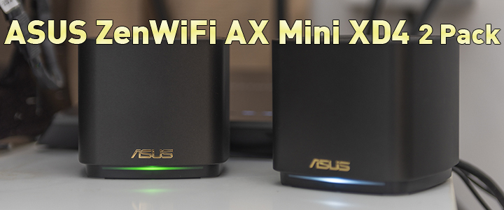 default thumb ASUS ZenWiFi AX Mini XD4 2 Pack Review