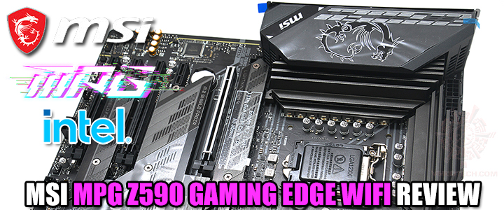 MSI MPG Z590 GAMING EDGE WIFI REVIEW