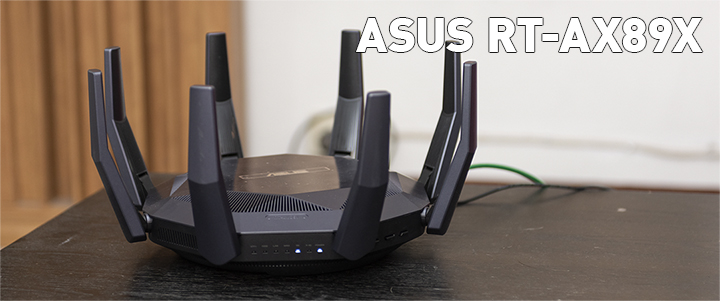 ASUS RT-AX89X 12-stream AX6000 Dual Band WiFi 6 Review