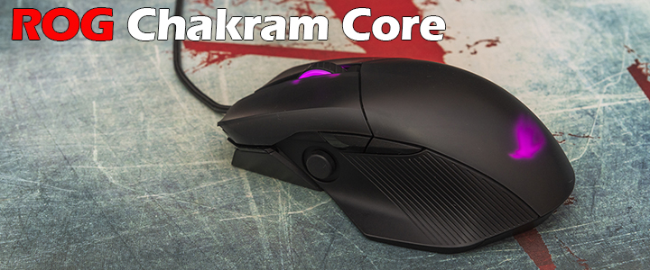 default thumb ASUS ROG Chakram Core Gaming Mouse Review