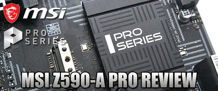 default thumb MSI Z590-A PRO REVIEW
