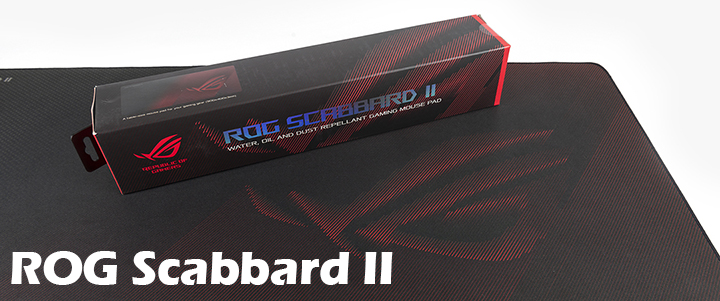 default thumb ASUS ROG Scabbard II gaming mouse pad Review