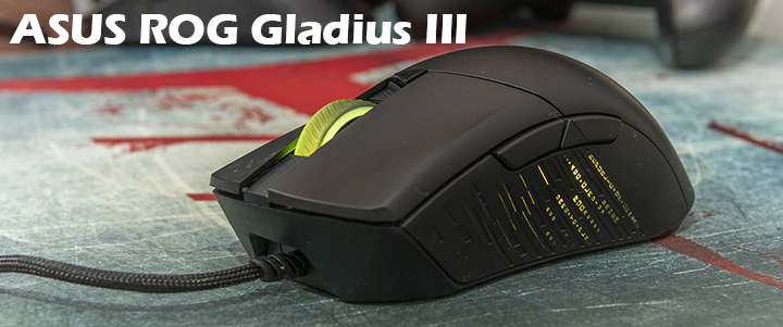 ASUS ROG Gladius III Classic Asymmetrical Gaming Mouse Review
