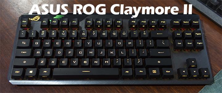 ASUS ROG Claymore II TKL Mechanical Keyboard Review