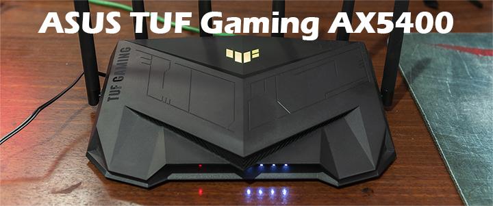 ASUS TUF Gaming AX5400 Dual Band WiFi 6 Gaming Router Review