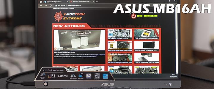 default thumb ASUS ZenScreen MB16AH Portable USB Monitor Review