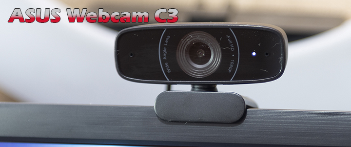 ASUS Webcam C3 USB camera with 1080p 30 fps Review