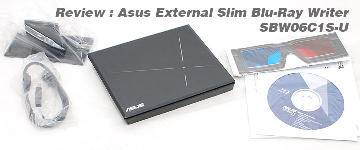 1289061280DSC 6844copy Review : Asus External Slim 6X Blu Ray Writer