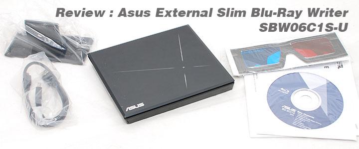 1289061280DSC 6844copy Review : Asus External Slim 6X Blu Ray Writer
