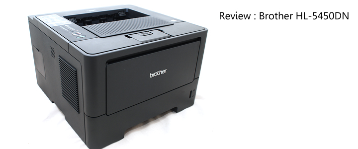 1352991798DSC 5402 Review : Brother HL 5450DN