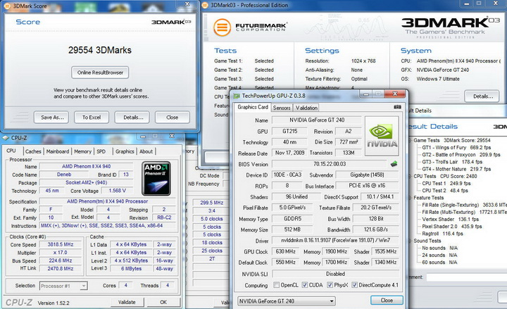 0314 Gigabyte GT240 DDR5 512M Ho