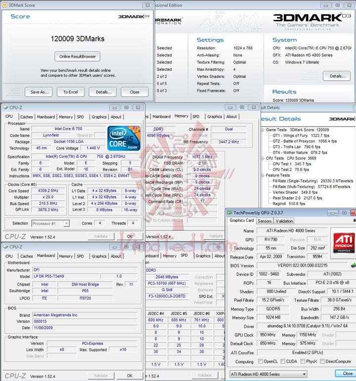 038 DFI DK P55 T3eH9 Review