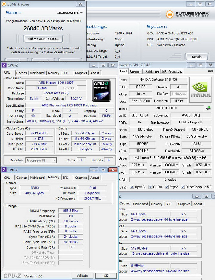 05111 Asus ENGTS450 TOP Review
