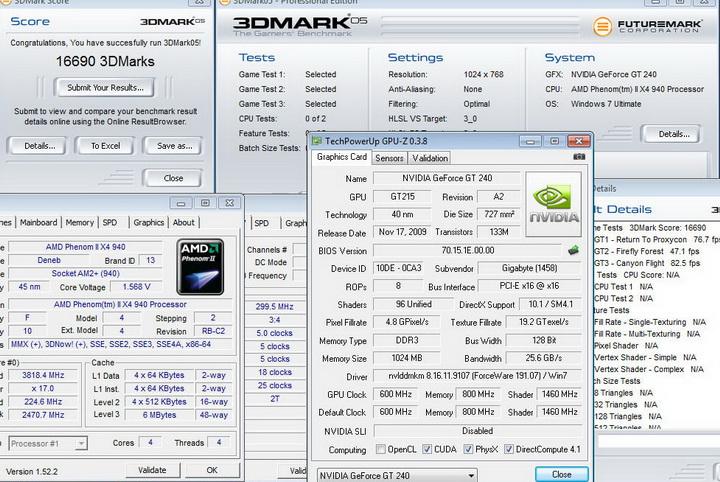 056 Gigabyte GT240 DDR3