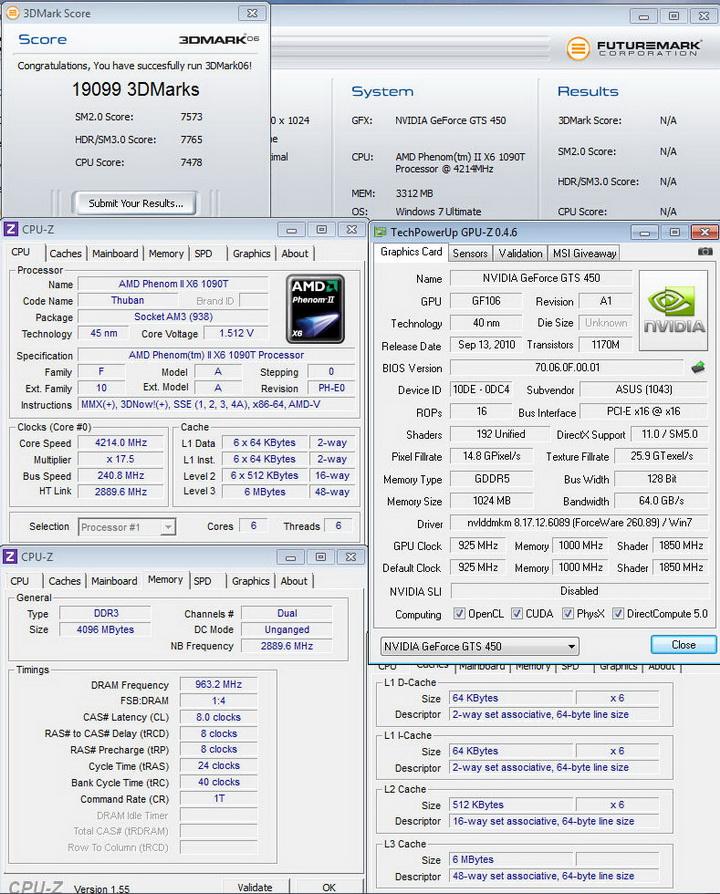 06111 Asus ENGTS450 TOP Review
