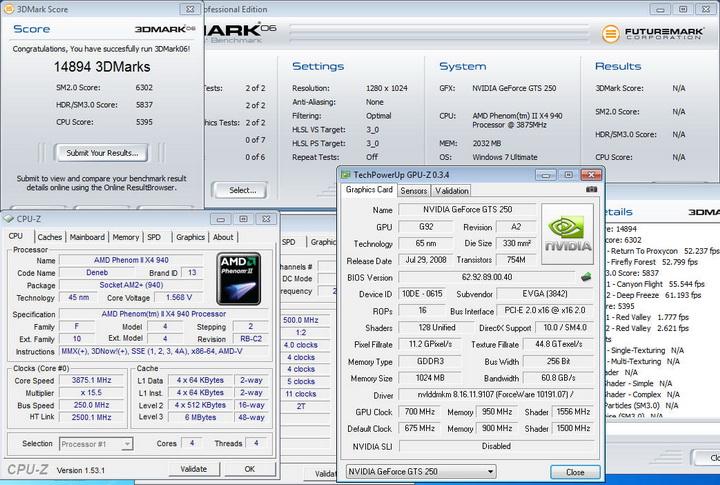 0615 EVGA GTS250 1GB DDR3