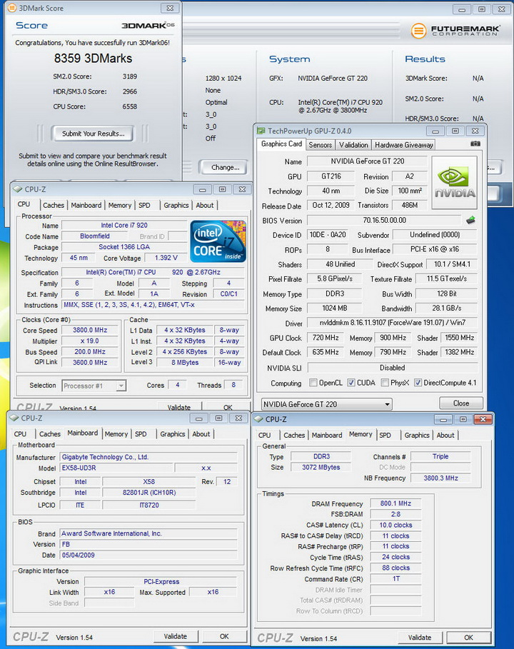0618 Palit GT220 DDR3 1024MB Review