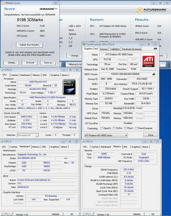 0621 Gigabyte 890GPA UD3H  Unlock Core