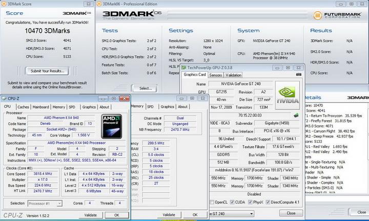 068 Gigabyte GT240 DDR5 512M Ho
